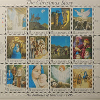 GUERNSEY 1996 CHRISTMAS SG716-729 MNH 14 VALUES
