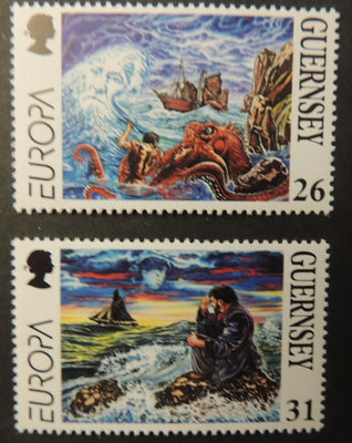 GUERNSEY 1997 EUROPA TALES AND LEGENDS SG735-736 MNH 2 VALUES