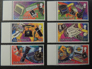 GUERNSEY 1997 METHODS OF COMMUNICATION SG741-746 MNH 6 VALUES