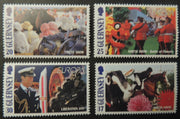 GUERNSEY 1998 EUROPA NATIONAL FESTIVALS SG781-784 MNH 4 VALUES
