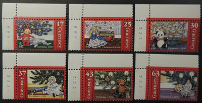 GUERNSEY 1998 CHRISTMAS SG810-815 MNH 6 VALUES