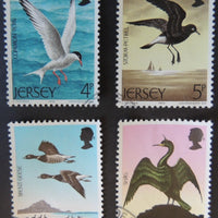 JERSEY 1975 SEA BIRDS SET OF 4 VFU