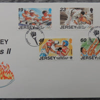 Jersey 1996 Sporting Anniversaries FDC 5 values