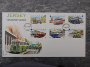 Jersey 1998 Motor Transport Buses FDC 6 values