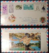 Spain 1976 - Special letter sent form Spain to UK Mallorca postmark
