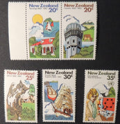New Zealand 1982 commemorations 5 values MNH