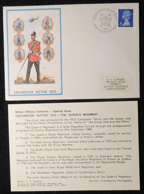 GB cover Colchester Tattoo BFPS 1973