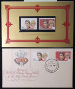 Australia 1981 royal wedding FDC and post office pack charles and diana