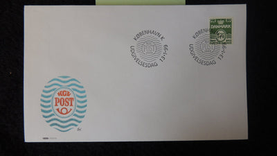 Denmark 1999 FDC wavy lines good used