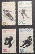 Germany 1971 olympic games promotion fund sapporo sg1589-92 MNH