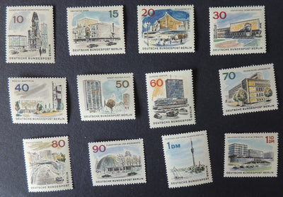 Germany Berlin 1965 new berlin full set 12 values sgb265-76 MNH