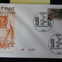 Germany 1989 FDC bread for the world miserior bonn postmark good used