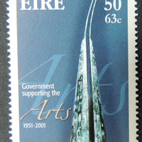 Ireland 2001 government support for the arts 1v MNH