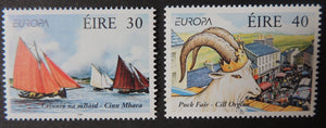 Ireland 1998  europa festivals puck fair killoglin sailing ships sg1169-70 2v MNH