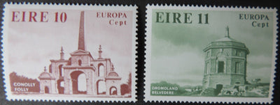 Ireland 1978 europa architecture conolly folley dromoland belverder sg436-7 2v MNH