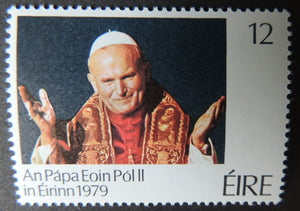 Ireland 1979 pope john paul II religion sg449 1v MNH