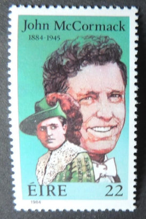 Ireland 1984 birth centenary john mccormack opera music religion sg591 1v MNH