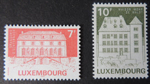 Luxembourg 1985 classified monuments echternach orangery 2 values MNH