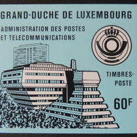 Luxembourg 1986 60F booklet robert schuman 10 values MNH