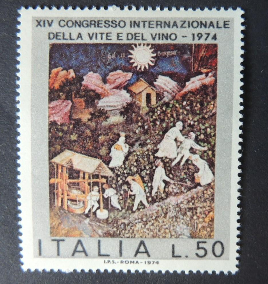 Italy 1974 14th international wine congress 1 value MNH