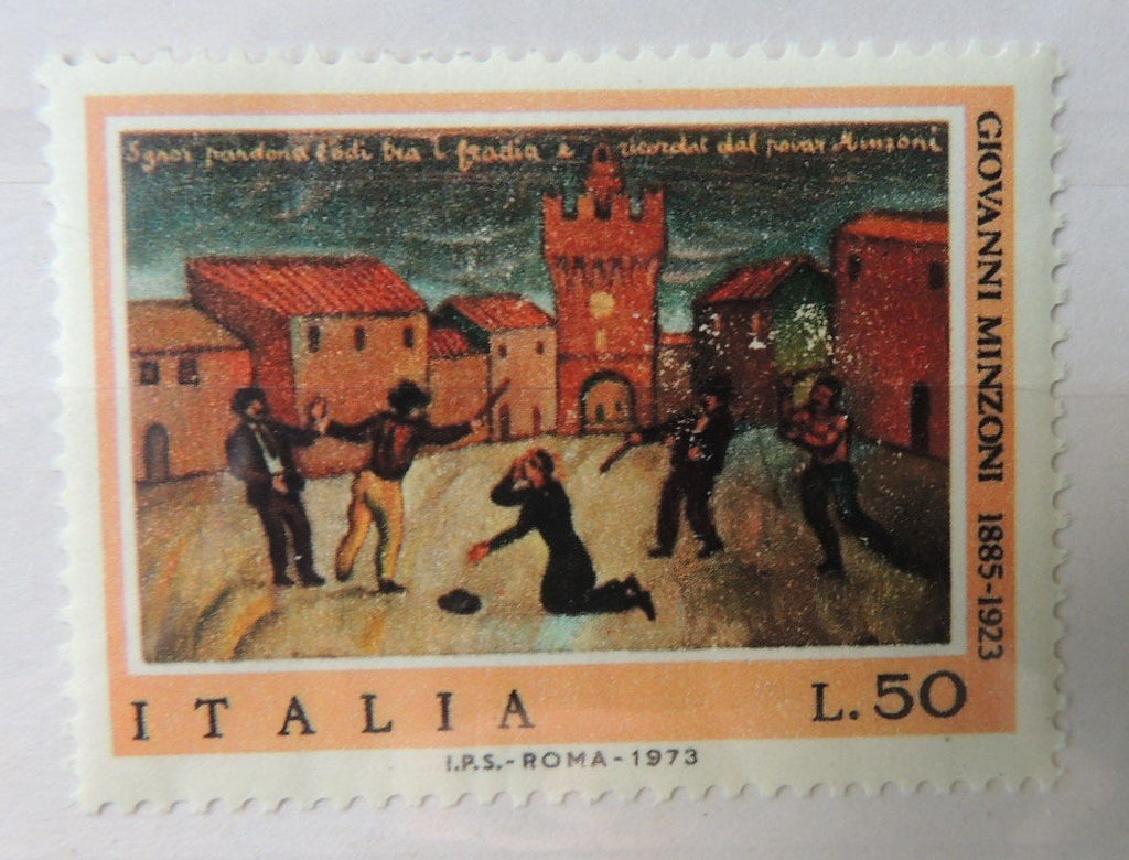 Italy 1973 50th death anniversary Don Giovanni Minzoni priest religion 1v MNH
