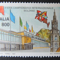 Italy 1997 international trade fair Bolzano flags 1v MNH