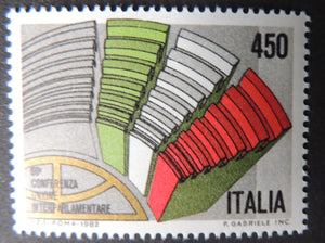 Italy 1982 69th inerparliamentary union conference 1v MNH
