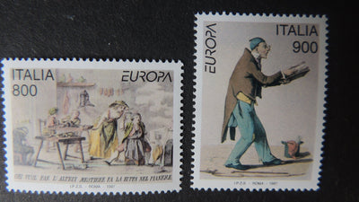 Italy 1997 europa tales and legends 2v MNH