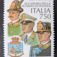 Italy 1996 Centenary of Academy of Excise Guards militaria uniforms 1v MNH