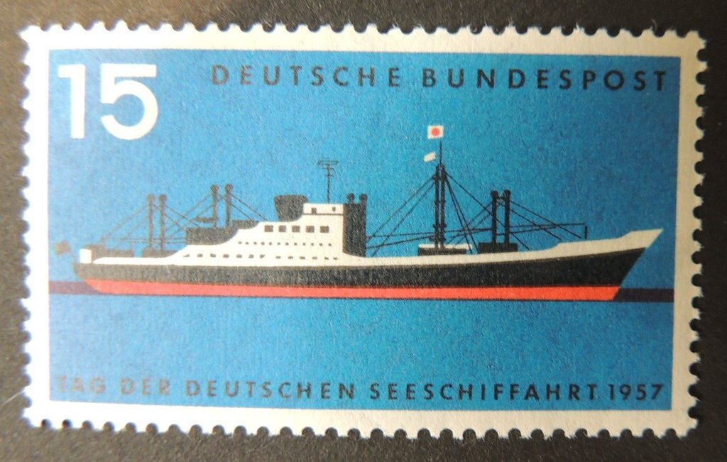 Germany 1957 merchant shipping 1v MNH