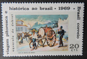 Brazil 1969 art paintings baptiste debret 1v mnh