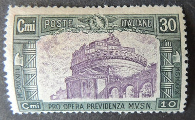 Italy 1928 castle st angelo MNH