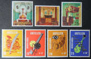 Antilles Netherlands 1970 churches religion masts media MNH