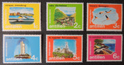 Antilles Netherlands 1971 views forts tourism flamingo birds MNH