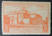 Spain 1930 monastery la rabida 5c red religion churches MNH
