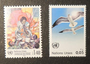United Nations Geneva 1986 crisis africa herring gulls birds MNH