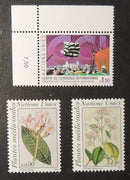 United Nations Geneva 1990 trade fair + medicinal plants MNH