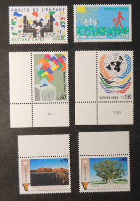 United Nations Geneva 1991 childrens rights namibia MNH