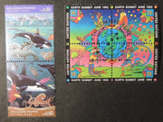 United Nations Geneva 1992 marine life earth summit NY FDC PM MNH