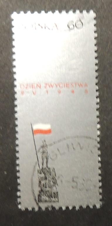 Poland 1966 day of victory over fascism fine used