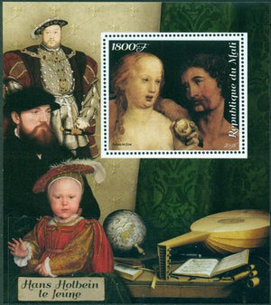 Mali 2018 Holbein Souvenir Sheet 1 Value