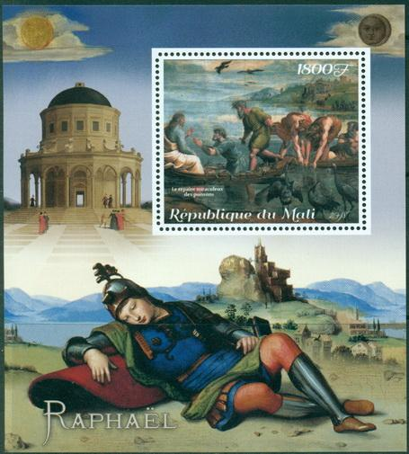 Mali 2018 Raphael Souvenir Sheet 1 Value