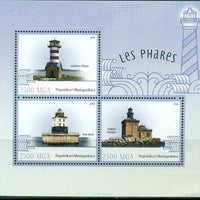 Madagascar 2016 Lighthouses Miniature Sheet