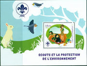 Madagascar 2018 Scouts Protection Of The Environment #3 Souvenir Sheet