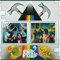Ivory Coast 2018 miniature sheet Pink Floyd 2 values