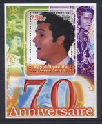 Cameroon 2005 Elvis presley 70th birth anniversary souvenir sheet #1