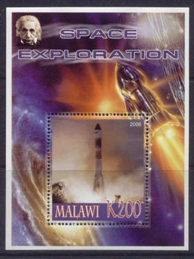 Malawi 2006 space exploration souvenir sheet #1