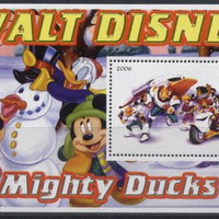 Malawi 2006 Walt Disney mighty ducks souvenir sheet
