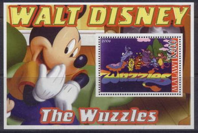 Malawi 2006 Walt Disney the wuzzles souvenir sheet