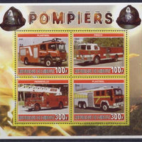 Djibouti 2006 fire department miniature sheet 4 values #5